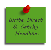 write effectively for the web